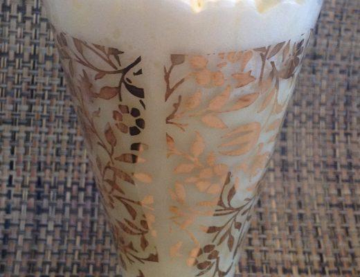 Cioccolata bianca al limone e pinoli